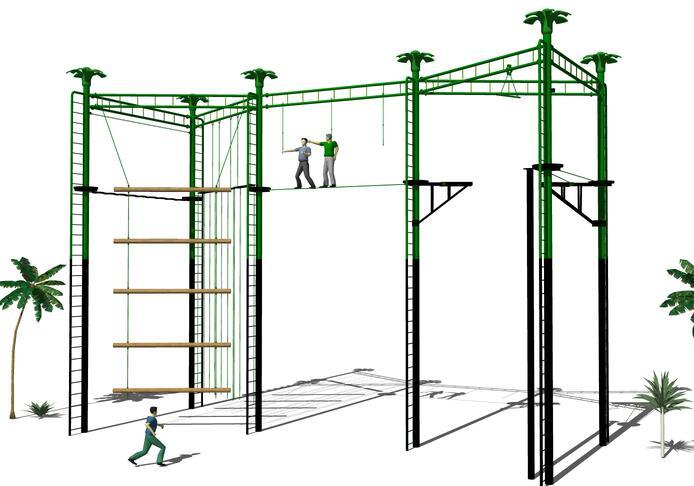 高空拓展器材-组合架2