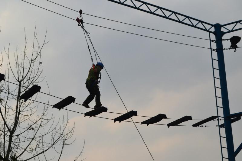 泸定桥-拓展设备 高空